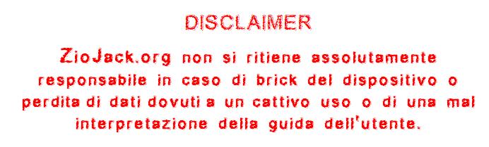 Discalimer