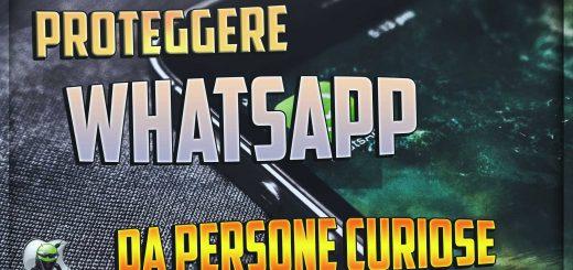proteggere whatsapp