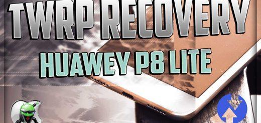 Installare la TWRP Recovery su Huawei P8 Lite