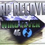 Come installare la TWRP Recovery su Wiko Fever 4G