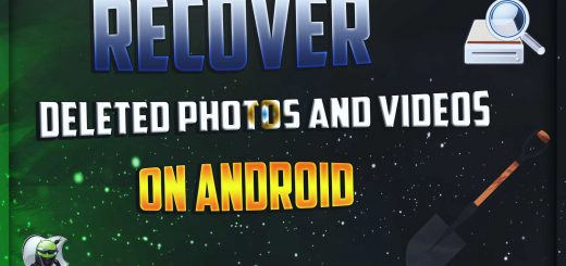 Recover our deleted photos on Android