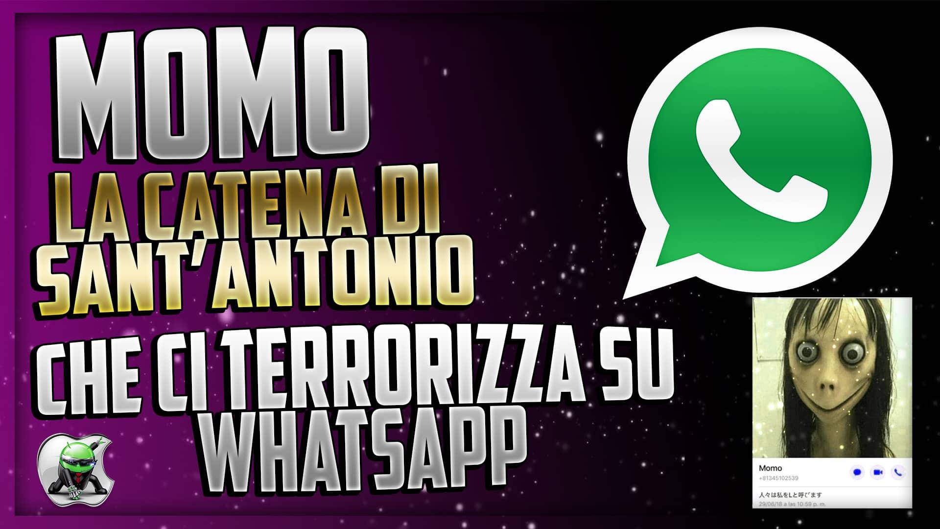Momo - La Catena di Sant'antonio che ci terrorizza su Whatsapp