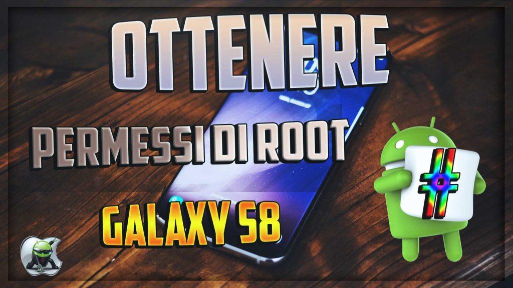 Permessi di root Galaxy S8