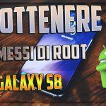 Permessi di root su Galaxy S8 con CF Auto Root