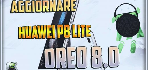 Huawei P8 Lite ad Oreo